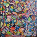 Labyrint 80x80 cm, 2020